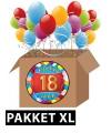 Feestartikelen 18 jaar pakket XL