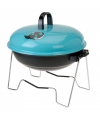 Blauwe barbecue 36 cm rond