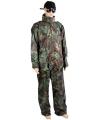 Camouflage regenbroek en regenjas