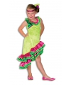 Carnavalskleding Caribien jurkje voor meisjes