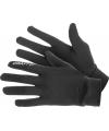 Hardloop accessoires zwarte Craft handschoenen