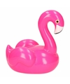 Kado spaarpot flamingo fuchsia 19 cm