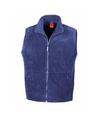 Warme bodywarmer van fleece voor dames
