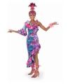Carnavalskleding Fleurige salsa jurk
