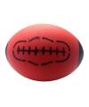 Speelgoed rugby bal van foam rood 24 cm