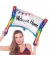 Schrijfbare ballon banner opblaasbaar