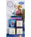 Frozen speelgoed stempel set 5 delig