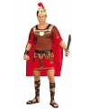 Carnavalskleding gladiator kostuum rood