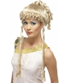 Feestartikelen Griekse godin pruik blond