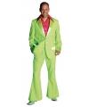 Carnavalskleding Groen jaren 70 kostuum voor heren