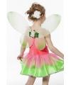 Verkleedaccessoires groene kinder vleugels