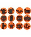 Halloween knutsel stempels 12x