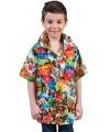 Carnavalskleding Hawaii shirts voor kinderen