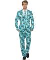 Fun kostuum heren met tropische print