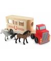 Paarden vrachtwagens met paarden