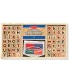 Speelgoed stempelset alfabet
