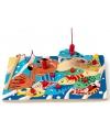 Vissen puzzels van hout met magneethengel