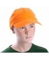 Feestartikelen Kinder baseballcap oranje