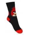 Angry Birds sokjes zwart voor kinderen 1 paar