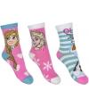 Frozen sokjes voor kinderen 3-pak