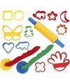 Klei vormpjes hobby knutselset voor kinderen