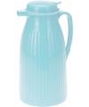 Thermosfles voor koffie blauw 1 liter