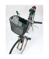 Metalen fietsmand zwart