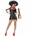Carnavalskleding Mexicaans jurkje dames