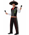 Canavalskleding Mexicaan kostuum