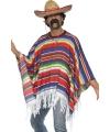 Carnavalskleding Mexicaanse poncho