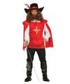 Verkleedkleding musketiers kostuums heren