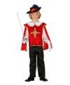 Verkleedkleding musketiers kostuums jongens