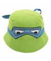 Ninja Turtle hoedje groen met maskertje