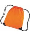 Oranje gekleurde gymtasjes