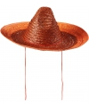 Mexicaanse sombrero oranje 48 cm