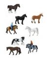 Speelgoed ruiter en paarden set