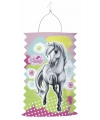 Paarden lampion van papier 30 cm