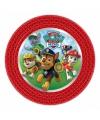Paw Patrol kinderfeest bordjes 8 stuks