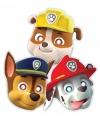 Paw Patrol kinderfeest maskers 8 stuks