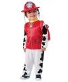 Brandweerhond Marshall kostuum Paw Patrol