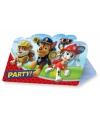 Paw Patrol kinderfeest uitnodigingen 8 stuks