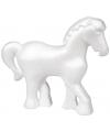 Beschilderbaar piepschuimen paard