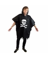 Regenponcho piraten doodshoofd