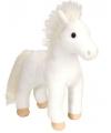 Wit paard knuffeltje 30 cm