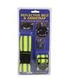 Riem en armband met reflecterende strepen