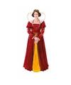 Carnavalskleding koninginnenjurk voor dames