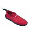 Anti-slip rode waterschoen voor dames