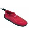 Anti-slip rode waterschoen voor heren
