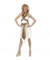 Carnavalskleding Romeinse godin kostuum voor dames