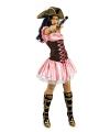 Piraten jurkje in het roze